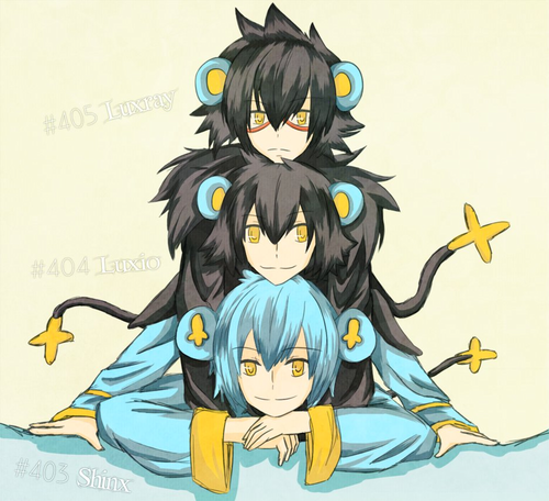 Shinx Evolution Gijinka
