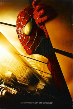 Spiderman (Look In his eye, and comment what you see)