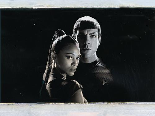 Zachary Quinto Spock Uhura