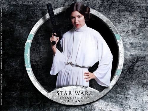 Star Wars wallpaper titled Star Wars Princess Leia