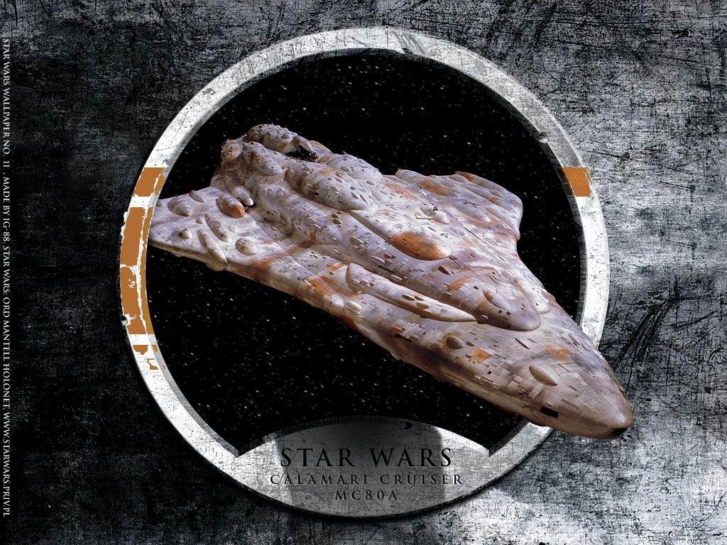 星, つ星 Wars Calamari クルーザー