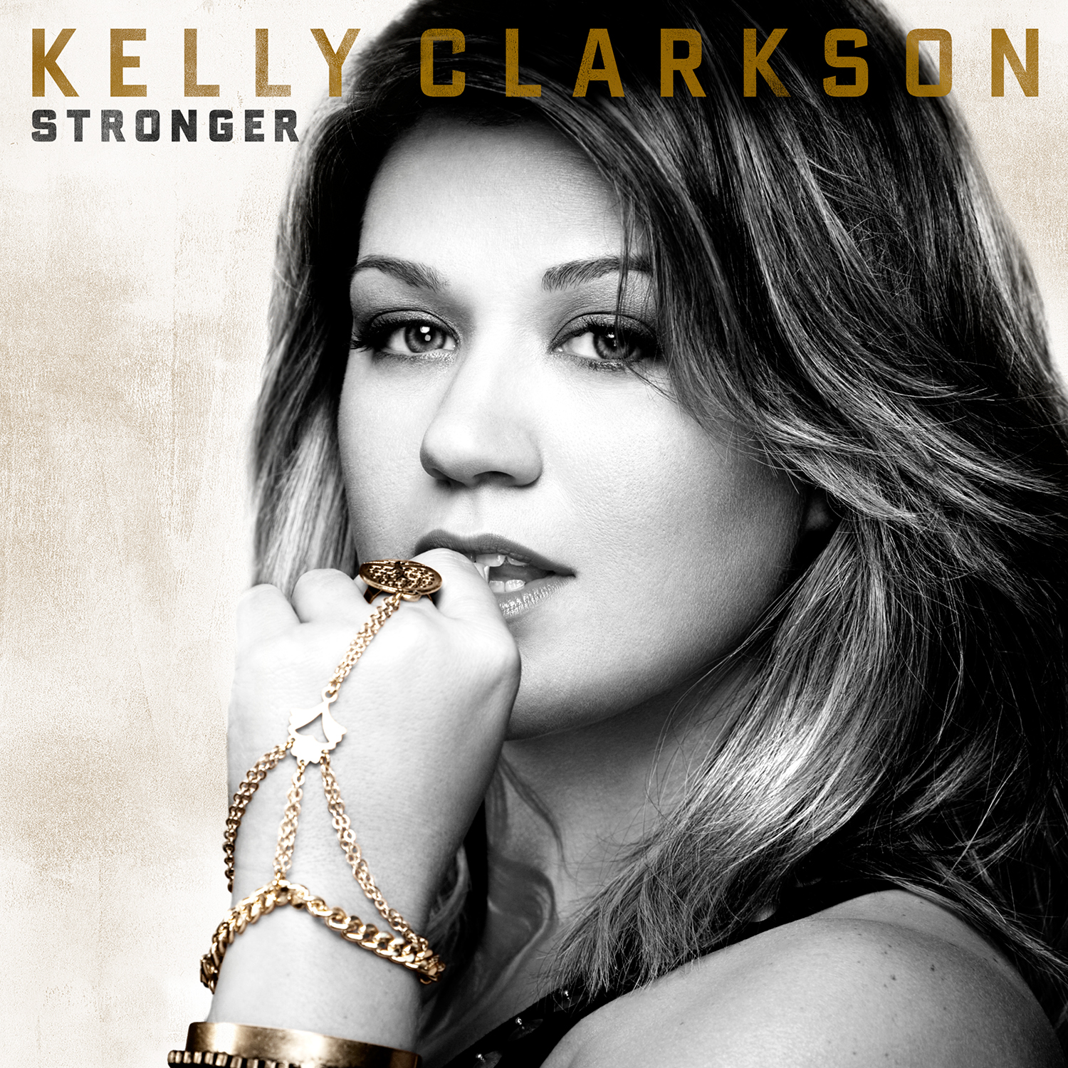 Stronger album cover kelly cla