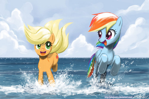 Summer time fillies