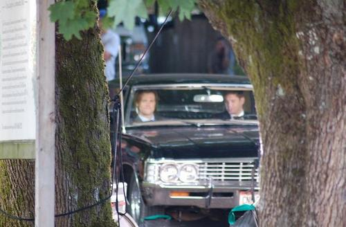 Supernatural - Season 7 - New Set تصاویر from 31st August 2011