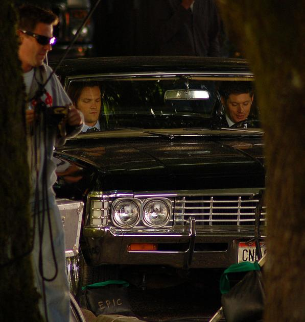 Supernatural - Season 7 - New Set Photos from 31st August 2011 - jensen-ackles photo