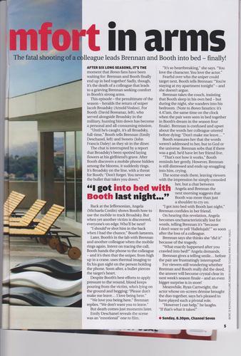 TV Week (AUS) Bones Cover Story September 2011