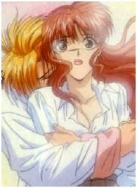 Tasuki hugging Miaka