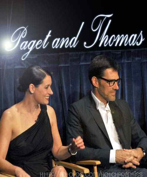 Tha Paley Center Paget Brewster & Thomas Gibson