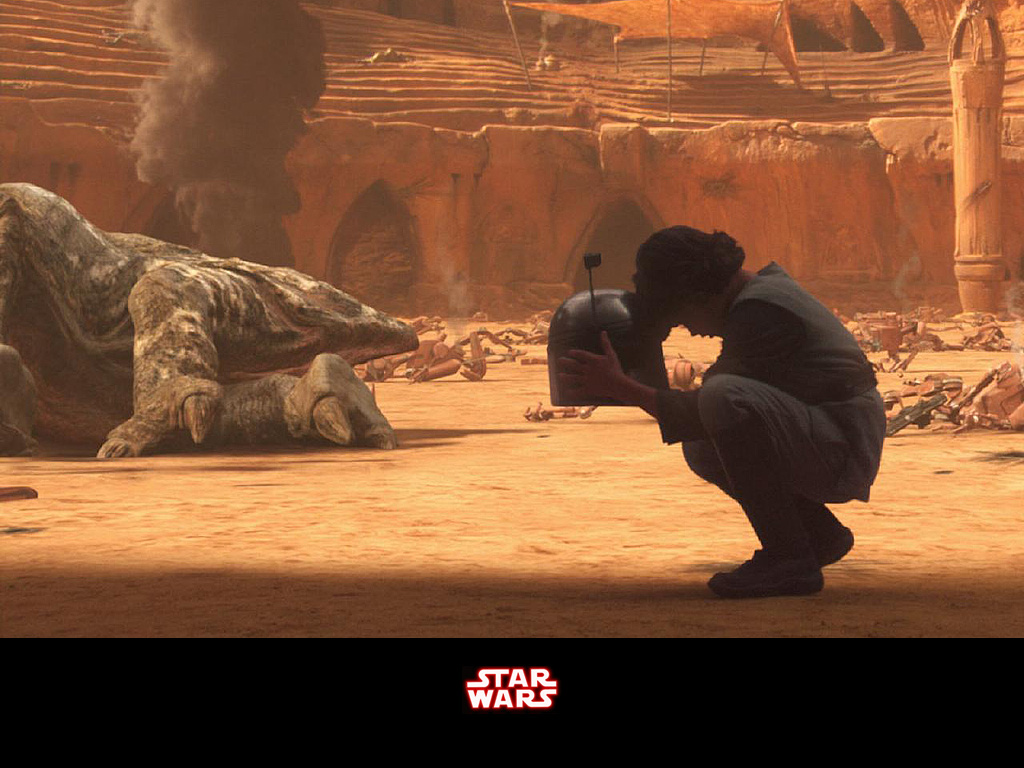 Etoile Star Wars Fond Decran Entitled The Death Of Jango Fett