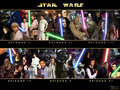 The Star wars saga: Characters - star-wars wallpaper