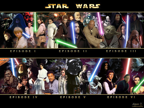 The stella, star wars saga: Characters