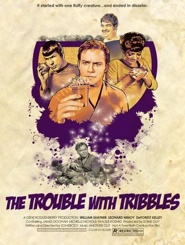 The Trouble with Tribbles - Poster