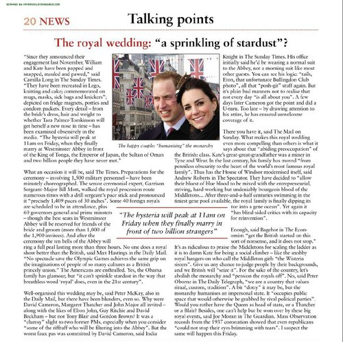 The Week (UK) - April 30, 2011