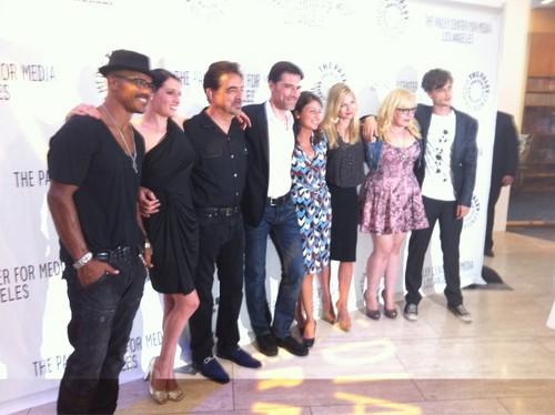 The whole cast @ Paley Fest