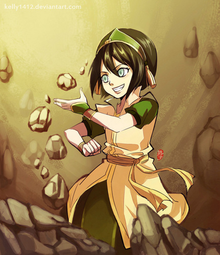 avatar - La Leyenda de Aang fondo de pantalla probably containing anime titled Toph