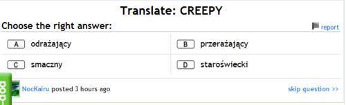Translate: Fail