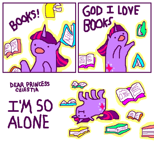 My Little ngựa con, ngựa, pony - Friendship is Magic hình nền probably with anime called Twilight Sparkle is a super mega nerd