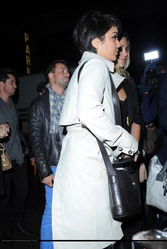 Vanessa - Arriving at Hiro Ballroom in New York City - September 06, 2011