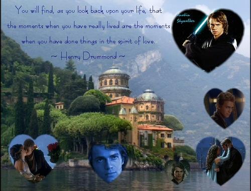 Hayden Christensen achtergrond titled Various achtergronden