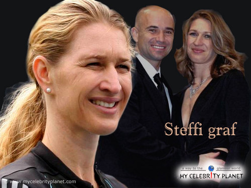 Steffi Graf in Andre Completes Me