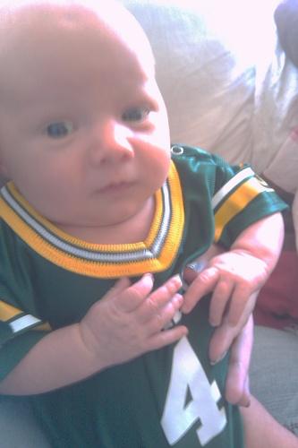 Walker...smallest Packers fan