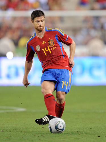 X. Alonso in Spain vs Liechtenstein