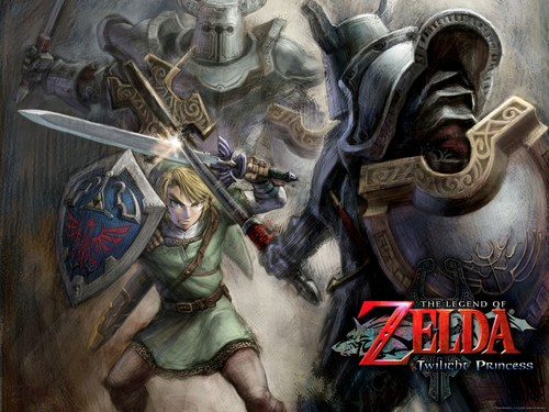 The Legend of Zelda wallpaper containing anime titled Zelda TP
