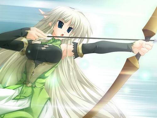 anime elf huntress