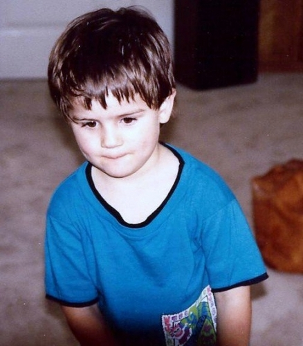 anthony is soo cute even as a kid <3 :D