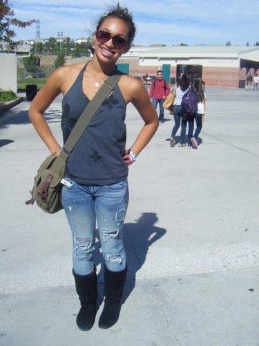 cayla at school i guess