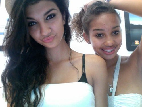 cayla with friend