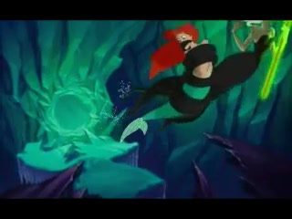 The Little Mermaid 2 karatasi la kupamba ukuta entitled Disney