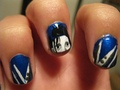 edward scissorhands nail art - nails-nail-art photo