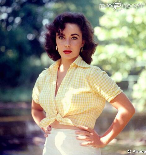 elizabeth taylor - acting Photo