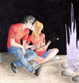 flicker - percy-jackson-and-annabeth-chase fan art