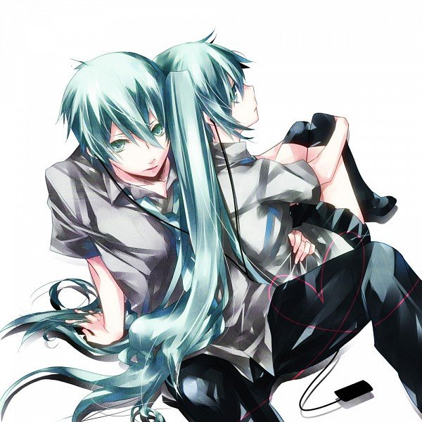 anime images hatsune miku and hatsune mikuo wallpaper and