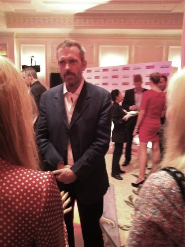 Hugh Laurie (Savoy Hotel) at the launch of L'Oreal Men Expert VitaLift 5.