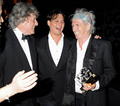 kieth richards and johnny celebrating after the award :D