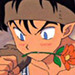 koga with a flower - koga-and-kagome icon