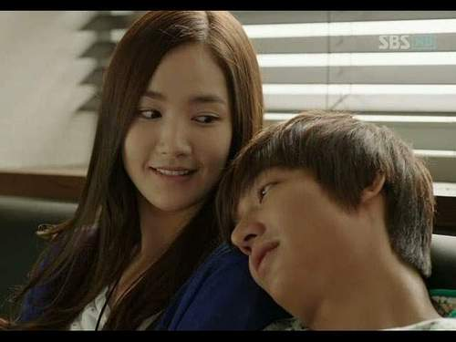 lee min ho park min young in city hunter