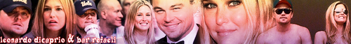 leonardo dicaprio and bar refaeli Banner