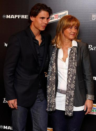 rafa with mother
