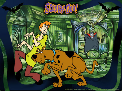 Scooby-Doo 壁紙 with アニメ entitled scooby doo