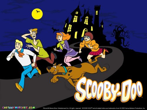 Scooby-Doo fond d'écran containing animé called scooby doo