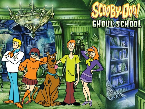 Scooby-Doo 壁纸 possibly containing 日本动漫 titled scooby doo