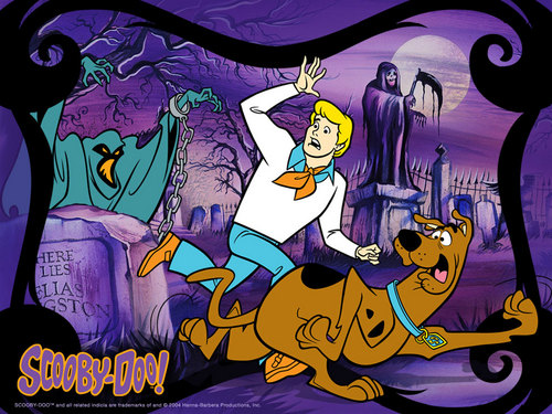 Scooby-Doo 壁纸 possibly with 日本动漫 called scooby doo