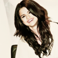 selena cute smile ; **