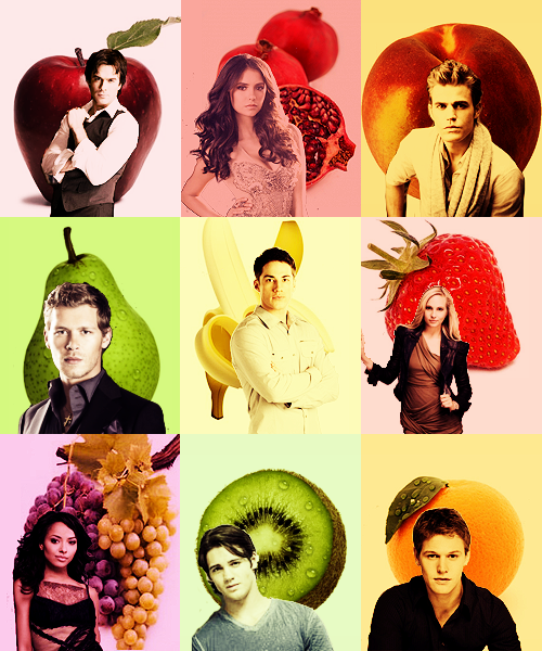 tvd characters and their fruit