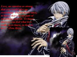 Vampire Knight Hintergrund entitled zero holding gun