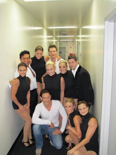 """Il Divo behind the scenes at America's Got Talent"""